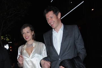 Milla Jovovich Stars Enjoy a Night Out at Soho House