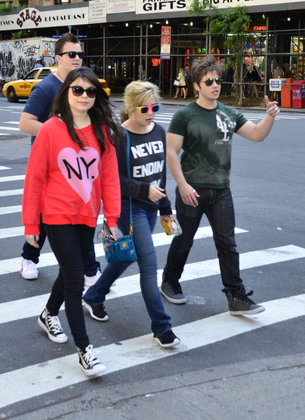 "The Cast of ""iCarly"" Out in NYC"