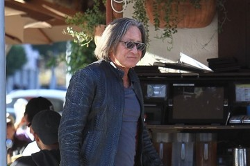 Mohamed Hadid Mohamed Hadid Has Lunch in Beverly Hills