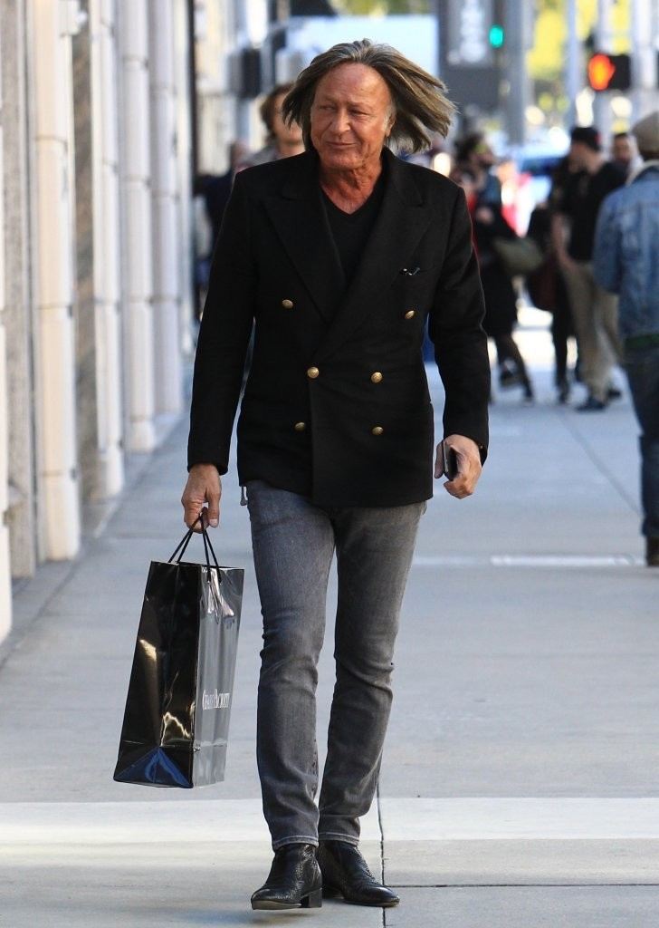 Mohamed Hadid Goes Shopping On Rodeo Drive - Zimbio  Mohamed Hadid G...