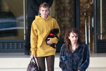 Moises Arias Sofia Richie and Moises Arias Shop in Beverly Hills