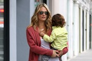 Molly Sims and Family Out in Beverly Hills