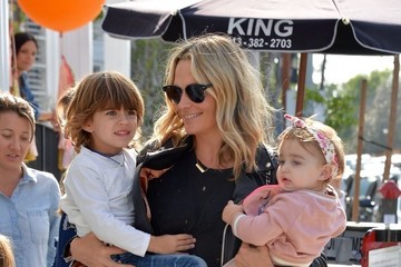 Molly Sims Molly Sims Spotted At Au Fudge Restaurant