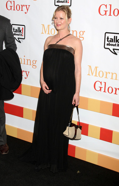 "Celebrities at the ""Morning Glory"" premiere in New York City, NY."