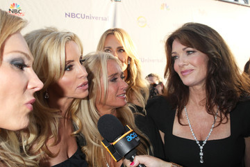 Kyle Richards Adrienne Maloof NBC Universal Press Tour All Star Party - Arrivals