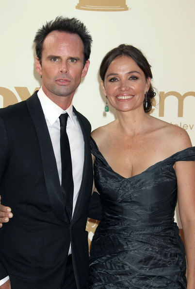 Walton Goggins and Nadia Cooners