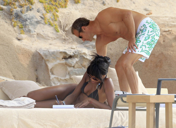 Naomi Campbell enjoys a holiday in Ibiza, Spain on June 10th, 2012.
