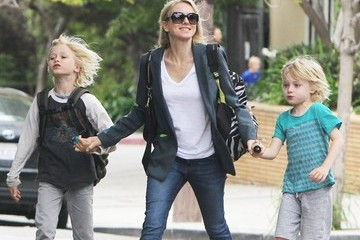 Naomi Watts Alexander Schreiber Naomi Watts Out And About With Her Sons