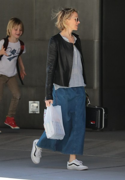 Naomi Watts Heads Out With Her Son in NYC