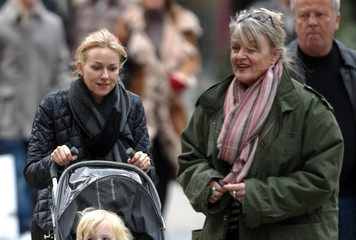 Myfanwy Edwards Naomi Watts and Son Samuel Take an NYC Stroll