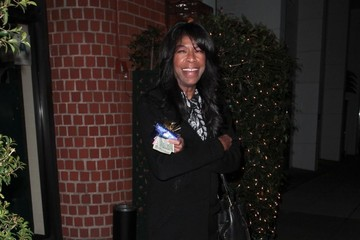 Natalie Cole Celebs Grab Dinner in Beverly Hills