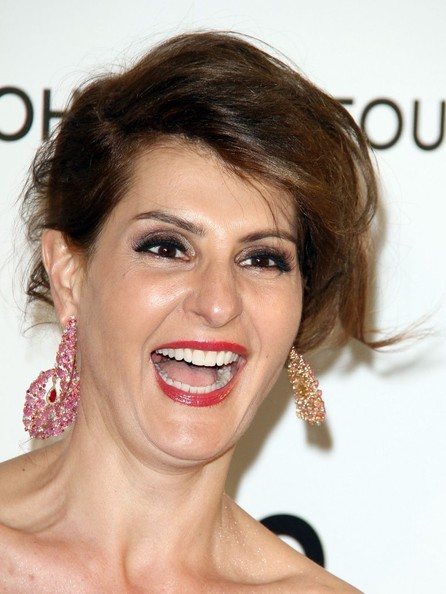 nia vardalos photos photos celebs at elton johns oscar