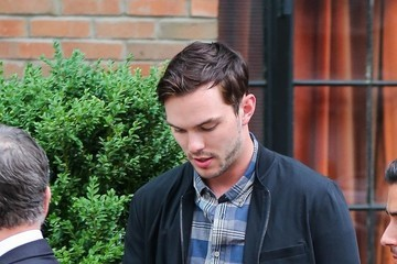 Nicholas Hoult Kristen Stewart and Nicholas Hoult Go Out in NYC