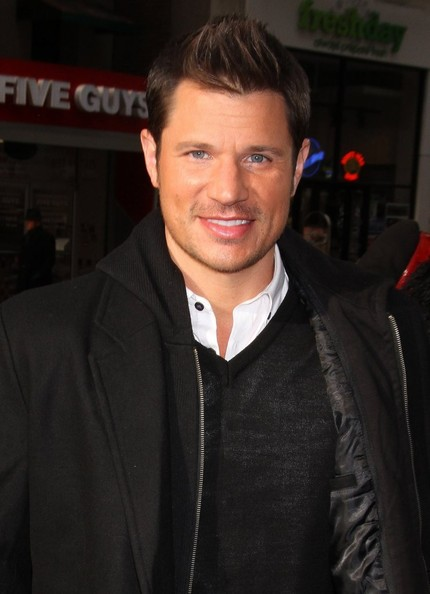 Nick Lachey - Celebs Visit the 'Today' Show