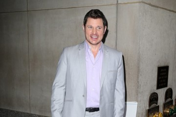 Nick Lachey Celebrities At 'The Today Show' In NYC