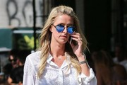 Nicky Hilton Chatting on Her Cell Phone in NYC