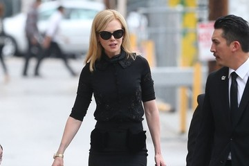 Nicole Kidman Celebs Arrive for 'Jimmy Kimmel Live!'