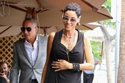 Nicole Murphy Out For Lunch in Beverly Hills
