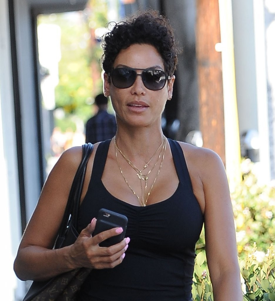 Nicole Murphy in Leggings Out in West Hollywood, California 7/26/2016