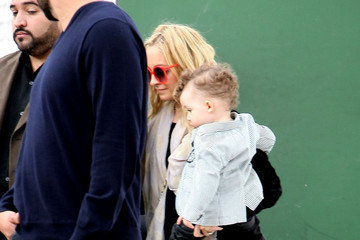 Nicole Richie Sparrow Madden Nicole Richie Leaving Her Daughters Birthday Party