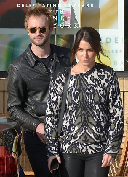"Nikki Reed ""Twilight"" actress Nikki Reed and her hubby, Paul McDonald, were seen shopping at Barney's New York in Beverly Hills, California on December 7, 2012."