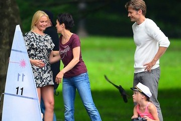 Nikolaj Coster-Waldau 'The Other Woman' Films in NYC