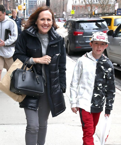 Photo of Molly Shannon  & her Son  Nolan Shannon Chesnut