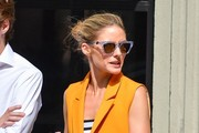 Olivia Palermo Haning Out With A Friend In Soho