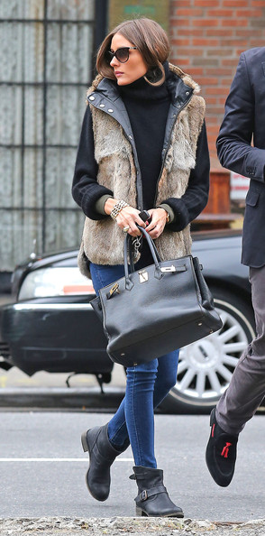Olivia Palermo Out And About In NYC []