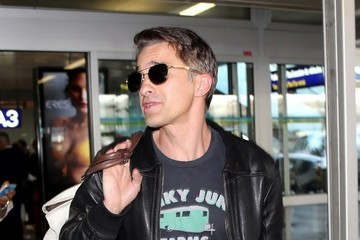 Olivier Martinez Olivier Martinez Touches Down at Nice Airport to Attend Cannes