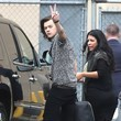 Harry Styles Brings Peace to Hollywood
