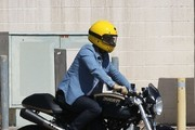 Orlando Bloom Out Riding His Motorcycle In Malibu