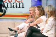 Actresses Cameron Diaz, Kate Upton and Leslie Mann visit ABC Studios to promote their new movie 'The Other Woman' on 'Good Morning America' on April 23, 2014 in New York City, New York.