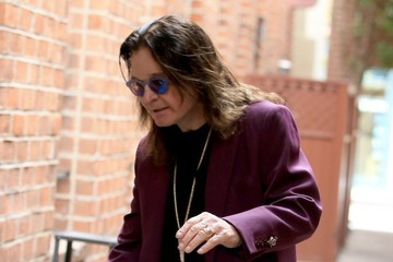 Ozzy Osbourne Ozzy Osbourne Stops By A Doctors Office In Beverly Hills