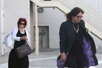 Ozzy Osbourne Ozzy & Sharon Shopping At Maxfield