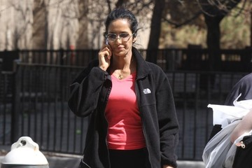 Padma Lakshmi Padma Lakshmi Out and About in NYC