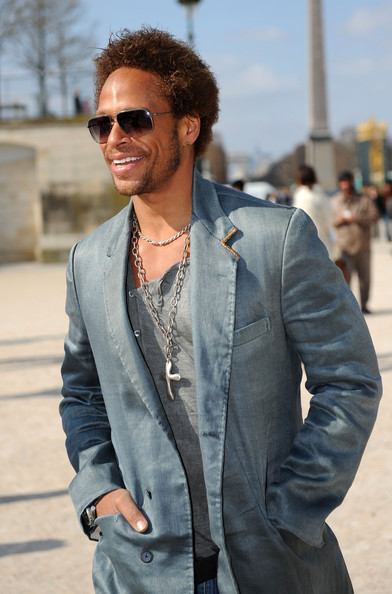 Gary Dourdan Celebrities arrive at the Viktor & Rolf Ready to Wear show as part of the Paris Womenswear Fashion Week Fall/Winter 2011 at Espace Ephemere Tuileries in Paris, France.