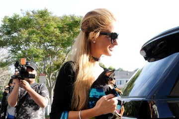 Paris Hilton Paris Hilton Shops At Barney's New York