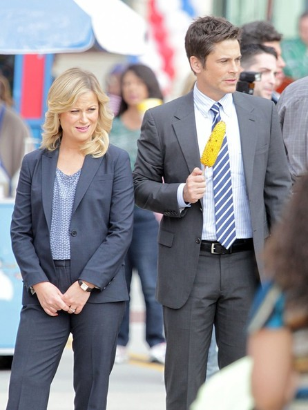 Scenes From the 'Parks and Rec' Set
