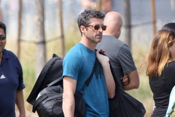 Patrick Dempsey Patrick Dempsey Watches His Son Play Soccer