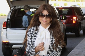 Paula Abdul Paula Abdul Touches Down In DC