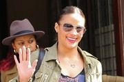 Paula Patton Leaving Her NYC Hotel