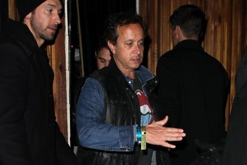 Pauly Shore Celebs Dine Out At The Nice Guy