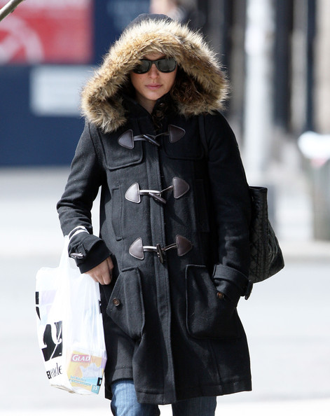 natalie portman out and about. Pregnant Natalie Portman Out