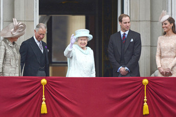 Prince William Prince Charles The Queen's Diamond Jubilee Celebration Continues