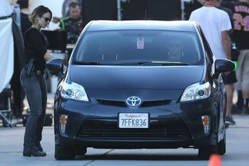 Rachel McAdams Stars Filming 'True Detective' In Los Angeles