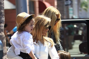 Rachel Zoe Kaius Berman Rachel Zoe Goes Out With Her Sons in Beverly Hills