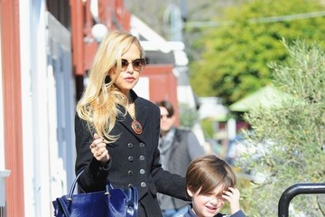 Rachel Zoe Skyler Berman Rachel Zoe Shops With Family in LA