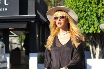 Rachel Zoe Skyler Berman Rachel Zoe Takes Her Family to the Market