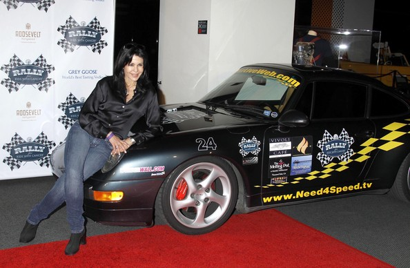 Maria Conchita Alonso at Rally for Kids with Cancer Scavenger Cup press conference at Petersen Automotive Museum in Los Angeles, CA.-(May 24, 2010 - Photo by Photo Agency)